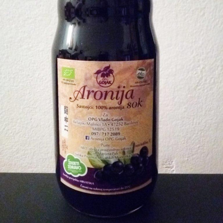 Aronija voćni sok